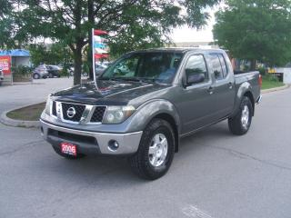 Used 2006 Nissan Frontier SE 4X4 Crew Cab for sale in York, ON