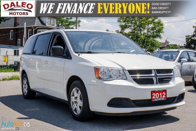 2012 Dodge Grand Caravan SE | 6 CYL | 7 PASSENGER | BLUETOOTH |