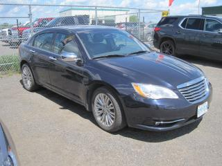 Used 2012 Chrysler 200 Limited for sale in Thunder Bay, ON