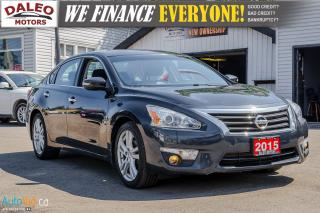 Used 2015 Nissan Altima SL | LEATHER | NAV | BLUETOOTH | BACKUP CAM for sale in Hamilton, ON