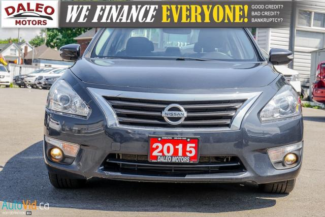 2015 Nissan Altima SL / 3.6L V6 / LEATHER / NAV / BACKUP CAM Photo2