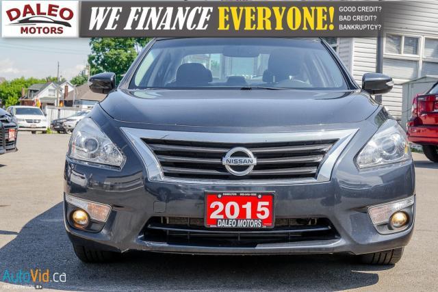 2015 Nissan Altima SL / 3.6L V6 / LEATHER / NAV / BACKUP CAM Photo13