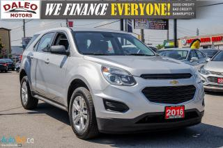 Used 2016 Chevrolet Equinox LS | BACK UP CAM | BLUETOOTH | for sale in Hamilton, ON