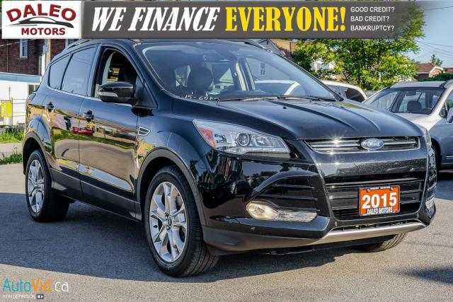 2015 Ford Escape TITANIUM | BACK UP CAM | NAV | HEATED SEATS |