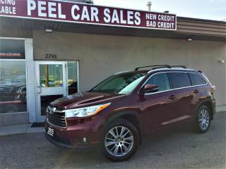 Used 2015 Toyota Highlander XLE AWD V6|VIDEO.CALL.US| |8PSNGR|BACKUP CAMERA|HEATED LEATHER SEATS|NAV|REARVIEW|SUNROOF|POWER TRUNK for sale in Mississauga, ON