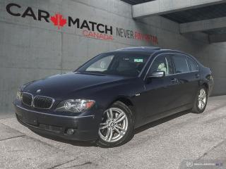 Used 2007 BMW 7 Series 750Li / *AUTO* / ONLY 131KM for sale in Cambridge, ON