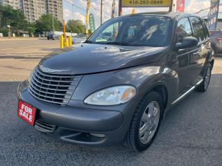 Used 2004 Chrysler PT Cruiser Limited/Leather/Sunroof/Heated Seats/ONLY 112 KM!! for sale in Scarborough, ON