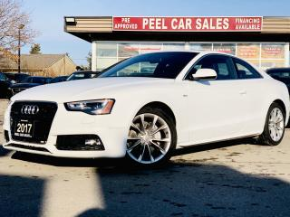 Used 2017 Audi A5 2.0T Premium quattro |CERTIFIED| SUNROOF|REAR SENSORS|NAV|COUPE for sale in Mississauga, ON