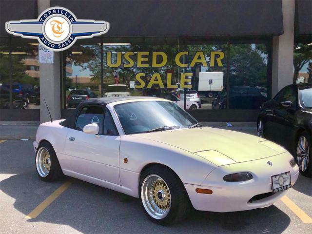 1992 Mazda Miata MX-5 Right Hand Drive, 2 Tops