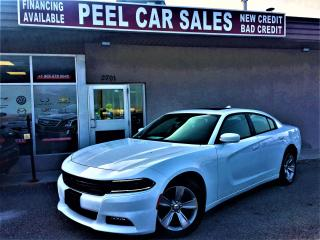 Used 2018 Dodge Charger SXT+|REARVIEW|SUNROOF|CARPLAY|16KM|WHITEONBLK for sale in Mississauga, ON