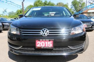 Used 2015 Volkswagen Passat Comfortline ACCIDENT FREE for sale in Brampton, ON