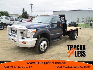 Used 2015 Ford F-550 XLT 4x4, Deck Truck for sale in Acheson, AB