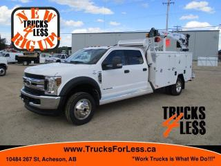 Used 2019 Ford F-550 Crew XLT 4x4, Service Truck with Crane for sale in Acheson, AB