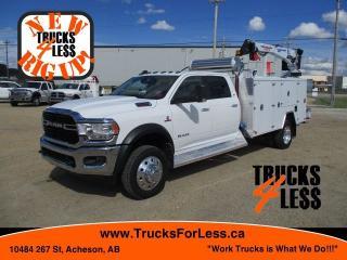 Used 2019 RAM 5500 Crew SLT, Service Truck + Crane + Welder/Air Comp. for sale in Acheson, AB