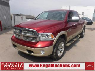 Used 2014 RAM 1500 LARAMIE LONGHORN CREW CAB LWB 4WD 5.7L for sale in Calgary, AB