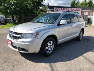 Used 2009 Dodge Journey SXT/Comes Certified/AWD/Backup Camera/7 Passenger for sale in Scarborough, ON