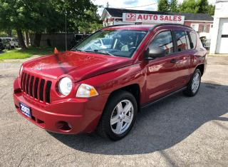 Used 2007 Jeep Compass Sport/Comes Certified/Automatic/4 Cylinder for sale in Scarborough, ON