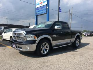 Used 2014 RAM 1500 Laramie *BACK-UP CAMERA*BLUETOOTH*COOLED SEATS*HEATED SEATS-DRIVER AND PASSENGER*MEMORY SEAT*NAVI* for sale in London, ON