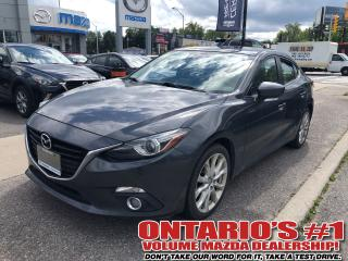 Used 2015 Mazda MAZDA3 GT for sale in Toronto, ON