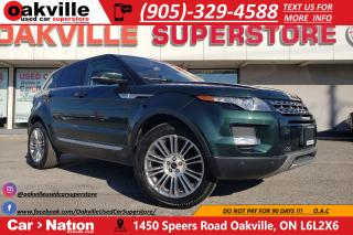 Used 2012 Land Rover Evoque PURE PLUS | PANO ROOF | HTD SEATS | NAVI | LEATHER for sale in Oakville, ON