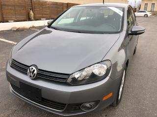 Used 2012 Volkswagen Golf Comfortline TDI 6 SPEED LIKE BRAND NEW for sale in Concord, ON