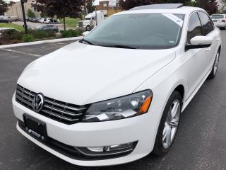 Used 2014 Volkswagen Passat 2.0 TDI Comfortline LEATHER SUNROOF NO ACCIDENTS ! for sale in Concord, ON