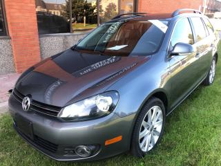 Used 2013 Volkswagen Golf 2.0 TDI Highline LEATHER PANORAMIC ROOF for sale in Concord, ON