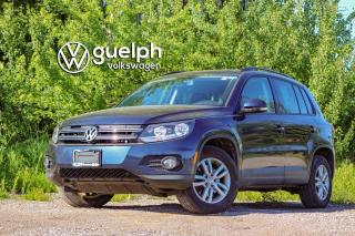Used 2015 Volkswagen Tiguan TRENDLINE Voice Recognition, Heated Seats, Bluetooth for sale in Guelph, ON