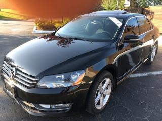 Used 2013 Volkswagen Passat 2.0 TDI Comfortline LEATHER SUNROOF 5 TO CHOOSE for sale in Concord, ON