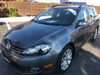 Used 2013 Volkswagen Golf 2.0 TDI Highline LEATHER+PANORAMIC ROOF 53000 KM for sale in Concord, ON