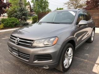 Used 2011 Volkswagen Touareg HIGHLINE TDI PANORAMIC SUNROOF LED HEAD LIGHTS NAV for sale in Concord, ON