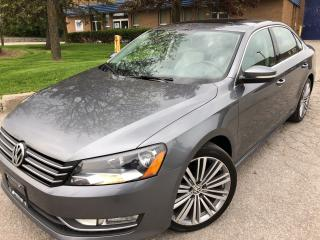 Used 2015 Volkswagen Passat Comfortline TWO TONE  TSI REAR CAMERA 5 TO CHOOSE for sale in Concord, ON