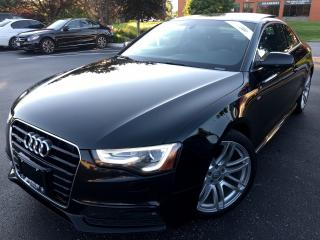 Used 2015 Audi A5 Progressiv SLINE NO ACCIDENTS ONE OWNER OFF LEASE for sale in Concord, ON
