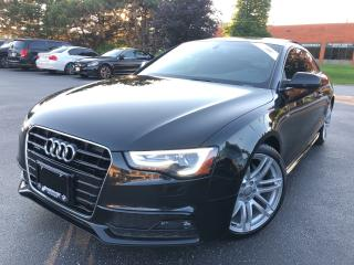 Used 2015 Audi A5 Technik  TOP OF THE LINE ONE WITH LANE DEPARTURE A for sale in Concord, ON