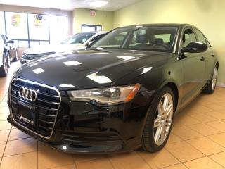 Used 2014 Audi A6 2.0T Progressiv NAVI LANE CHANGE ASSIST ONE OWNER for sale in Concord, ON