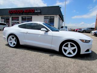 Used 2016 Ford Mustang V6 COUPE CAMERA BLUETOOTH CERTIFIED WARRANTY for sale in Milton, ON