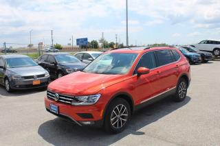 Used 2019 Volkswagen Tiguan COMFORTLINE for sale in Whitby, ON