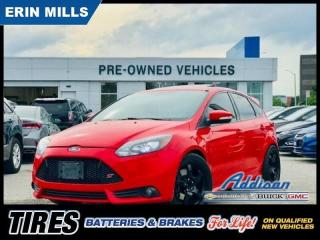 Used 2014 Ford Focus Hatchback ST Navi|Recaro|Sunroof| for sale in Mississauga, ON
