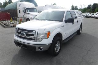 Used 2013 Ford F-150 XLT SuperCrew 6.5-ft. Bed 4WD EcoBoost with Canopy for sale in Burnaby, BC