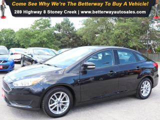 Used 2015 Ford Focus SE| AC| Backup Cam| Bluetooth| Gas Saver! for sale in Stoney Creek, ON