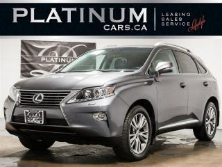 Used 2013 Lexus RX 350 NAVI, CAM, HEATED VENTED LTHR, SUNROOF for sale in Toronto, ON