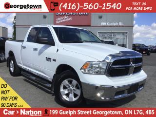 Used 2017 RAM 1500 SLT | 5.7L| 4X4 | 6'4 BOX | CAM | REMOTE for sale in Georgetown, ON