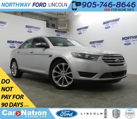 Used 2017 Ford Taurus Limited | AWD | NAV | PWR HTD LEATHER | SUNROOF | for sale in Brantford, ON