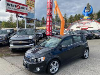 Used 2015 Chevrolet Sonic LT for sale in West Kelowna, BC