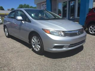 Used 2012 Honda Civic EX*Toit OUVRANT for sale in Québec, QC