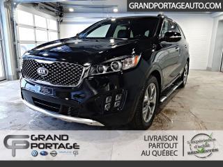 Used 2017 Kia Sorento SX V6 AWD 7 pass.*Meilleur qualité/prix* for sale in Rivière-Du-Loup, QC