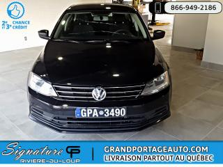 Used 2016 Volkswagen Jetta 1.4 TSI Trendline+ Auto *Air Climatisé* for sale in Rivière-Du-Loup, QC