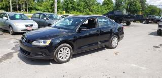 Used 2012 Volkswagen Jetta Sedan 5 spd 157k safetied we finance Comfortline for sale in Madoc, ON