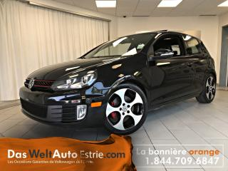 Used 2010 Volkswagen Golf GTI 3 Portes, Cuir for sale in Sherbrooke, QC