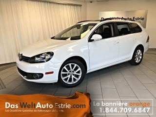 Used 2014 Volkswagen Golf Wagon 2.0 TDI Comfort, Toit, Manuel Bas Kilo! for sale in Sherbrooke, QC